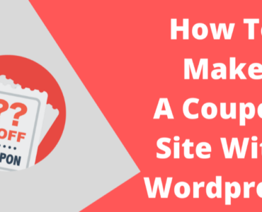 How to make coupon site with wordpress
