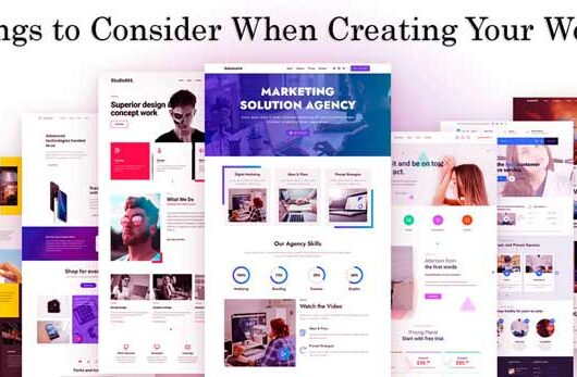 4 Major Things to Consider When Creating website - techbuzzpro.com