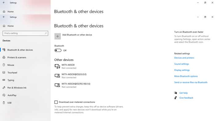 Turn on bluetooth techbuzzpro.com