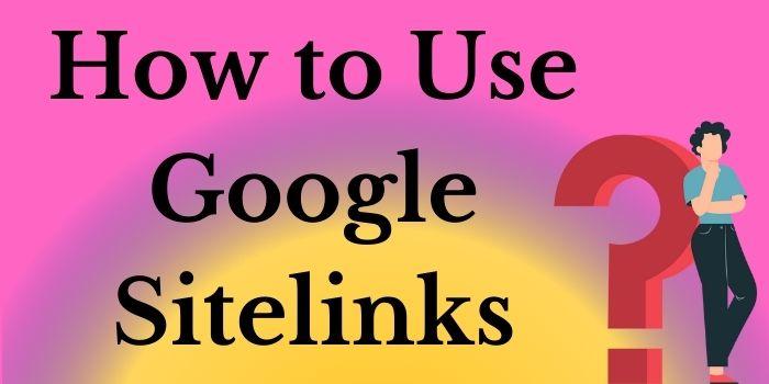 How to Use Google Sitelinks-www.techbuzzpro.com