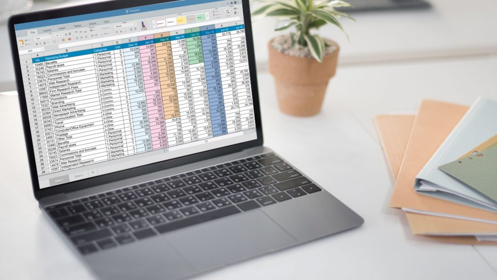 recovering excel file in laptop